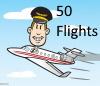 50 Flights